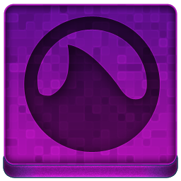 Pink Grooveshark Icon 256x256 png