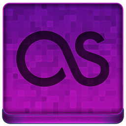Pink Last.fm Icon 256x256 png