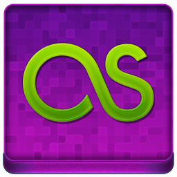 Pink Last.fm Coloured Icon 256x256 png