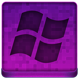 Pink Microsoft Icon 256x256 png