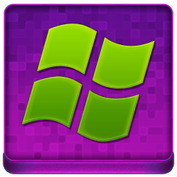 Pink Microsoft Coloured Icon 256x256 png