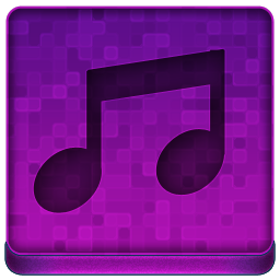 Pink Music Icon 256x256 png