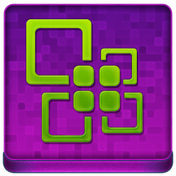 Pink Office Coloured Icon 256x256 png