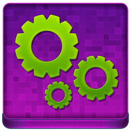 Pink Options Coloured Icon 256x256 png