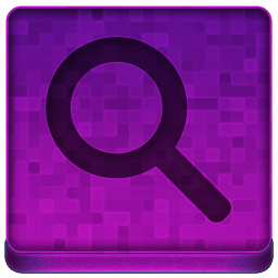 Pink Search Icon 256x256 png
