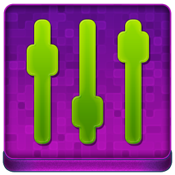 Pink Settings Coloured Icon 256x256 png