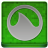 Green Grooveshark Coloured Icon
