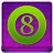Pink 8Ball Coloured Icon 48x48 png