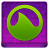 Pink Grooveshark Coloured Icon 48x48 png