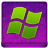 Pink Microsoft Coloured Icon 48x48 png