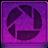 Pink Picassa Icon