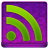 Pink RSS Coloured Icon 48x48 png