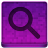 Pink Search Icon 48x48 png