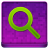 Pink Search Coloured Icon 48x48 png