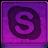 Pink Skype Icon