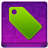 Pink Tag Coloured Icon 48x48 png