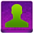 Pink User Coloured Icon 48x48 png