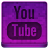 Pink YouTube Icon 48x48 png