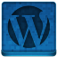 Blue WordPress Icon 64x64 png