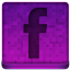 Pink Facebook Icon 64x64 png