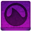 Pink Grooveshark Icon 64x64 png
