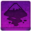 Pink Inkscape Icon 64x64 png