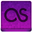 Pink Last.fm Icon 64x64 png