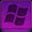 Pink Microsoft Icon 64x64 png