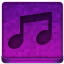 Pink Music Icon 64x64 png