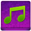 Pink Music Coloured Icon 64x64 png