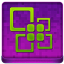 Pink Office Coloured Icon 64x64 png