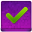 Pink Ok Coloured Icon 64x64 png