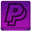 Pink PayPal Icon 64x64 png