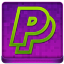 Pink PayPal Coloured Icon 64x64 png