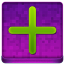 Pink Plus Coloured Icon 64x64 png