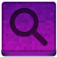 Pink Search Icon 64x64 png