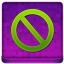Pink Stop Coloured Icon 64x64 png