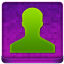 Pink User Coloured Icon 64x64 png