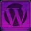 Pink WordPress Icon 64x64 png