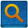 Blue Search Coloured Icon 96x96 png