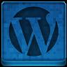 Blue WordPress Icon 96x96 png