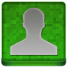 Green User Coloured Icon 96x96 png