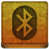 Orange Bluetooth Icon 96x96 png