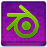Pink Blender Coloured Icon 96x96 png