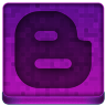 Pink Blogger Icon 96x96 png