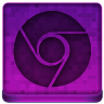 Pink Chrome Icon 96x96 png