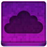 Pink Cloud Icon 96x96 png