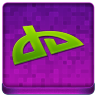 Pink deviantART Coloured Icon 96x96 png