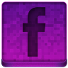 Pink Facebook Icon 96x96 png