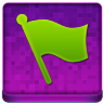 Pink Flag Coloured Icon 96x96 png